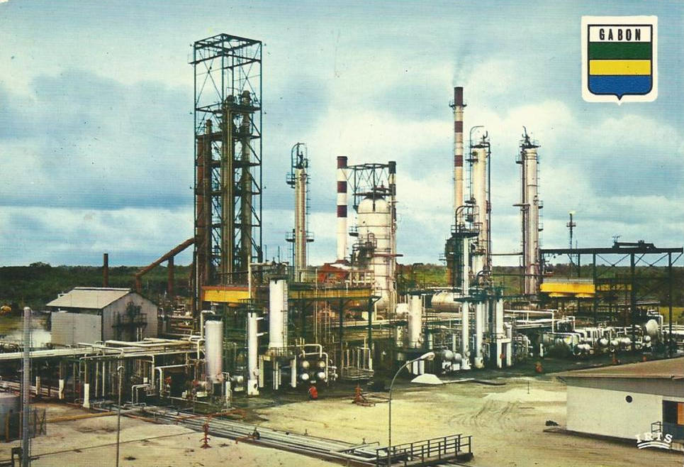 The refinery of Port-Gentil, Gabon.